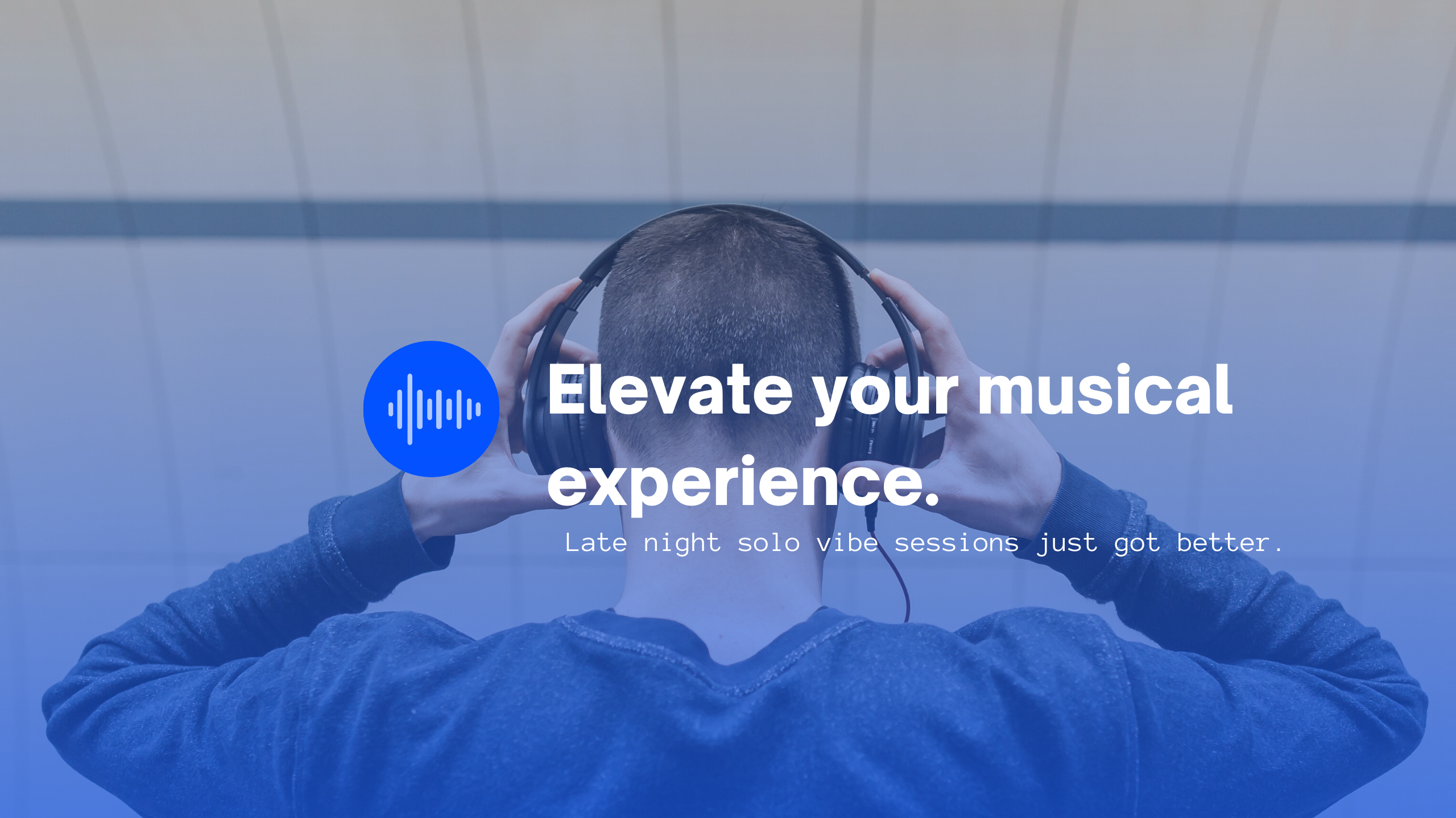 Enhance solo vibe sessions with SYQEL: The music visualizer.